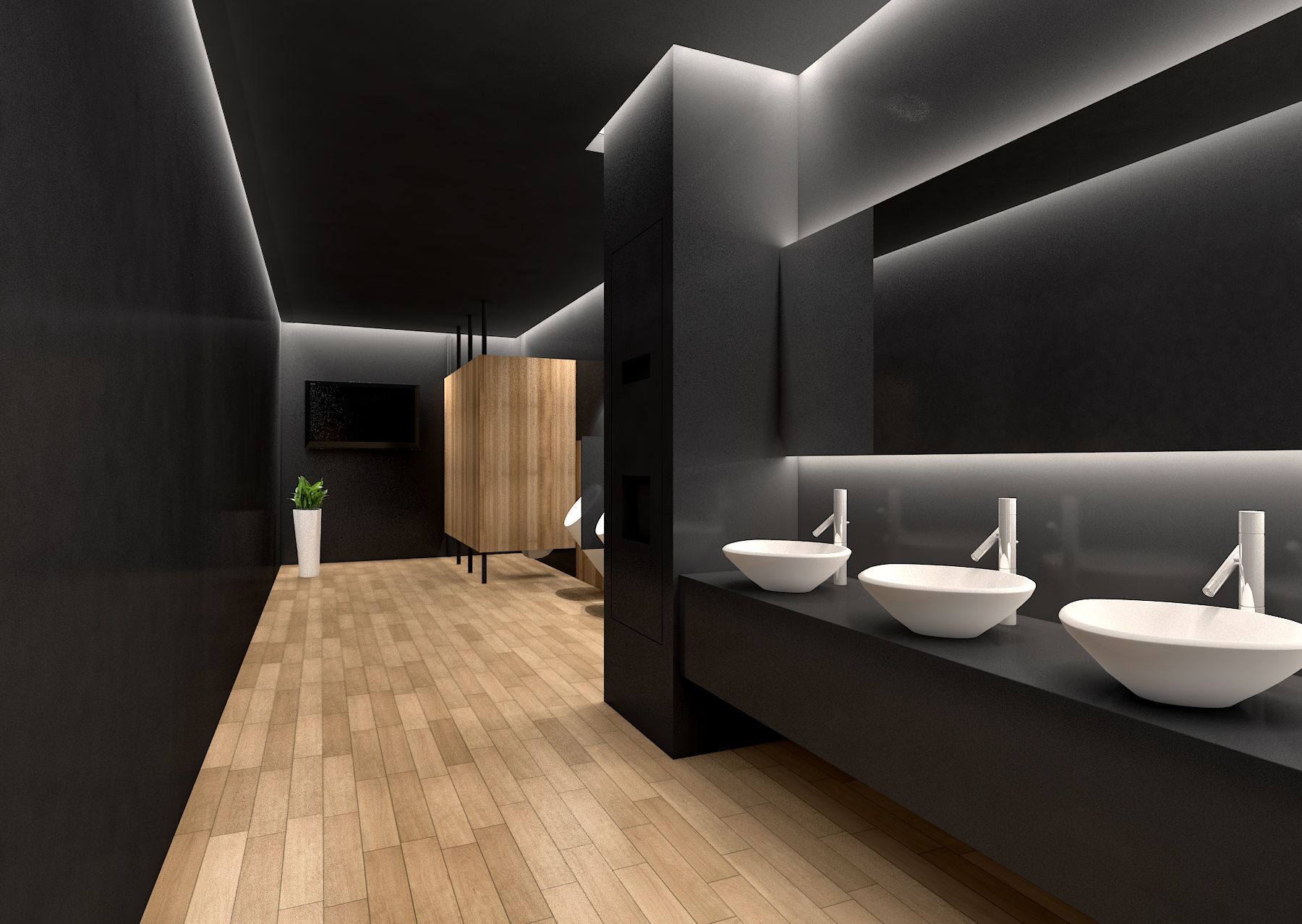 commercial toilet design - Google   | Restaurant Ideas ...