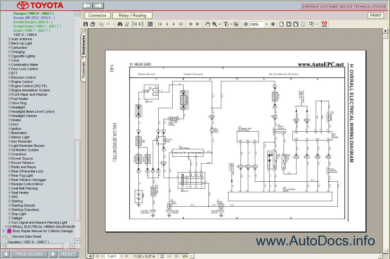 Toyota Estima Wiring Diagram Free 5 In 2020 Toyota Used Toyota Toyota Previa