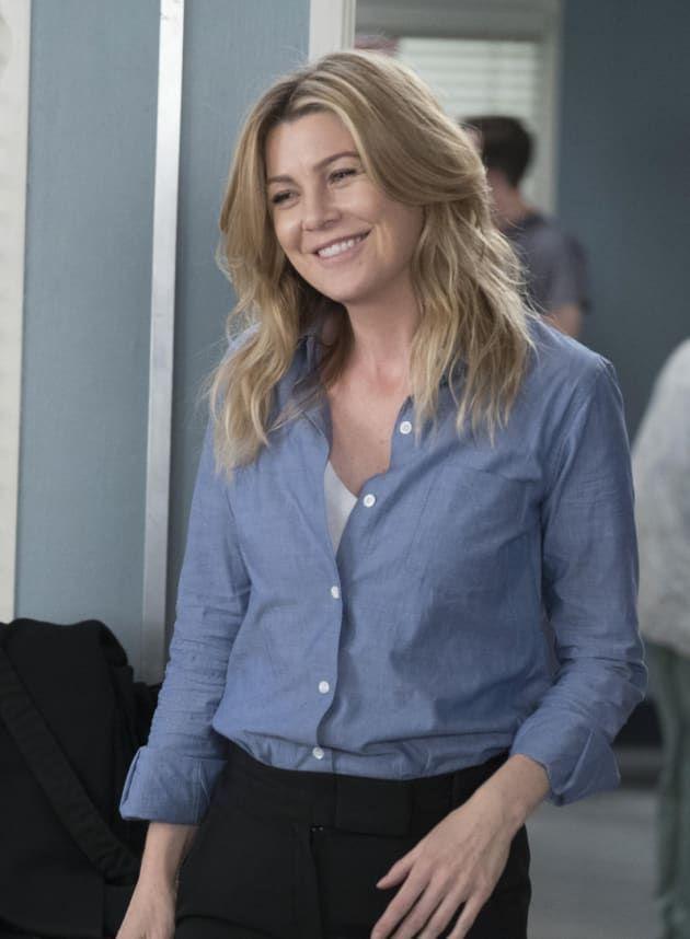 Ellen Pompeo as Meredith Grey on Grey\'s Anatomy | Grey\'s Anatomy ...