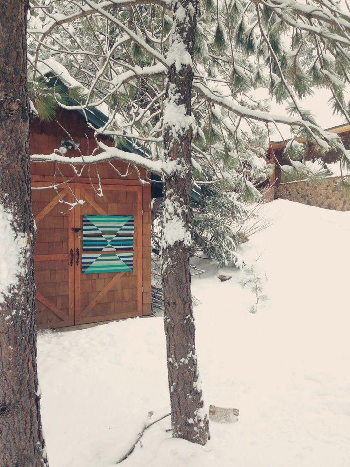 Barn Door Quilt Snow Barn Quilts Pinterest Barn Doors Barn