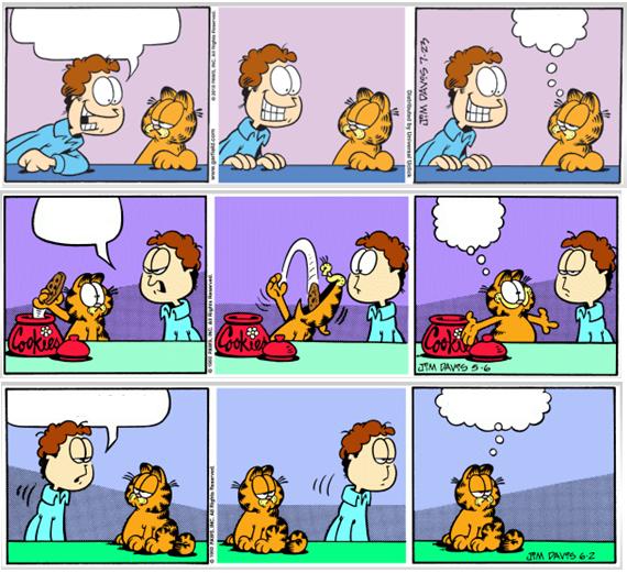 garfield comic strip template  Pin by Toño Aceves on More | Garfield comics, Christmas ...