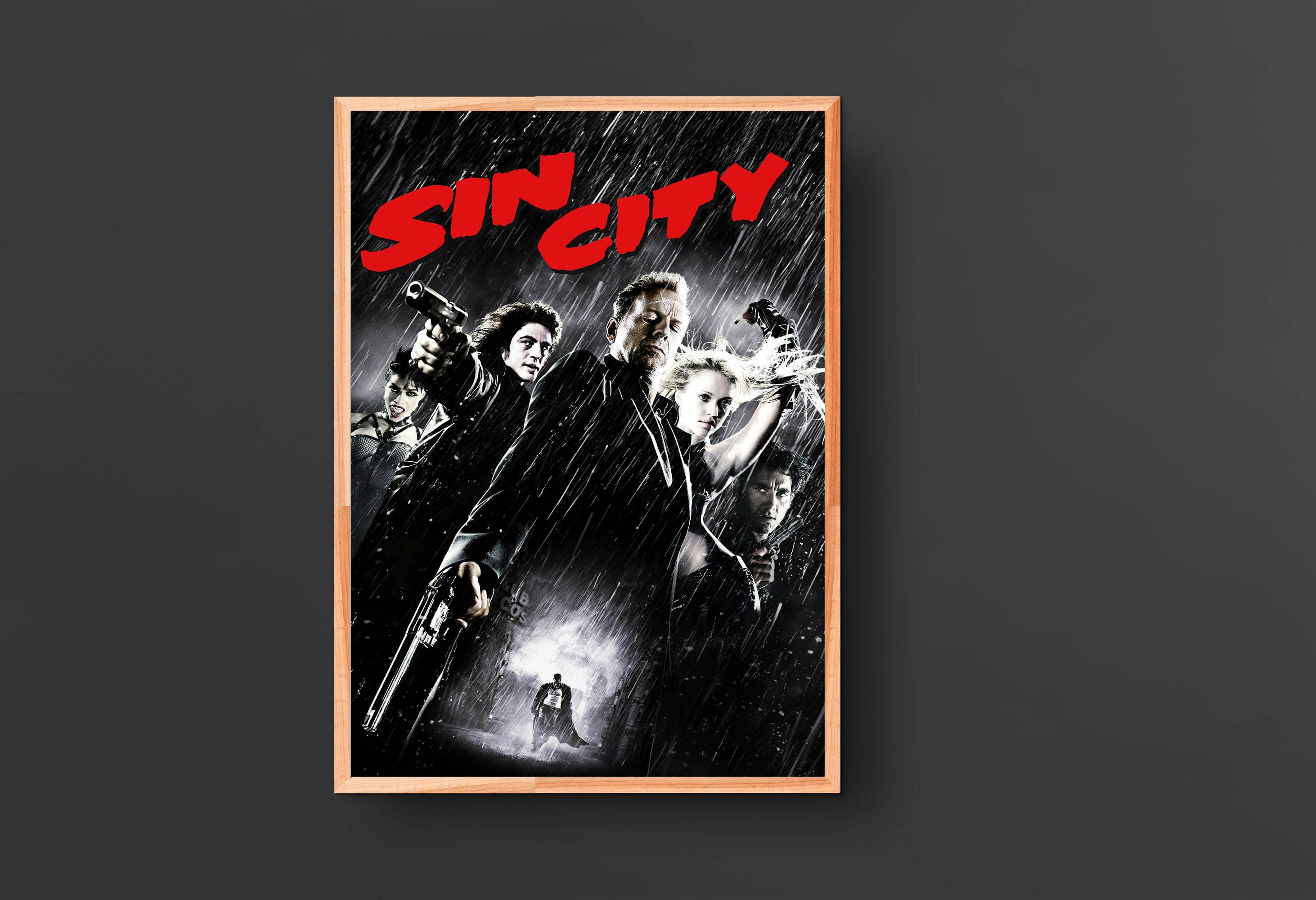 Sin City Movie Poster 2005 In 2020 Sin City Movie Movie Posters Classic Movie Posters