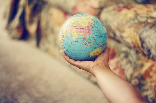 I want to TRAVEL THE WORLD & experience every kind of person, situation, culture, food & beautiful sites!