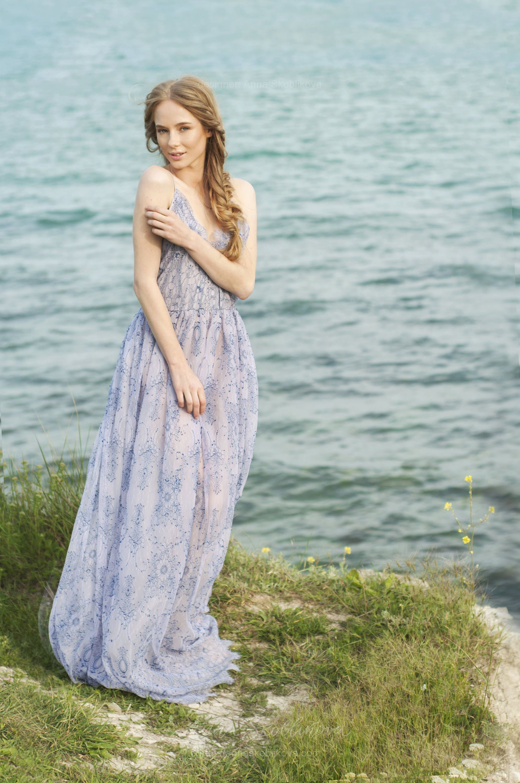 Casual wedding dress, Casual beach wedding dress, Summer