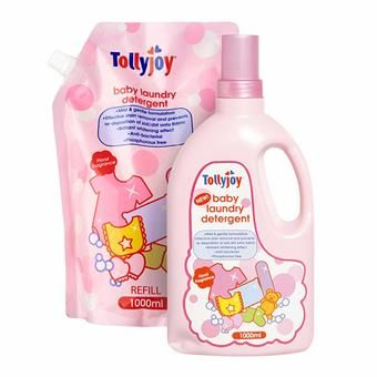 Tollyjoy Baby Laundry Detergent 1 Refill Pack Com Imagens