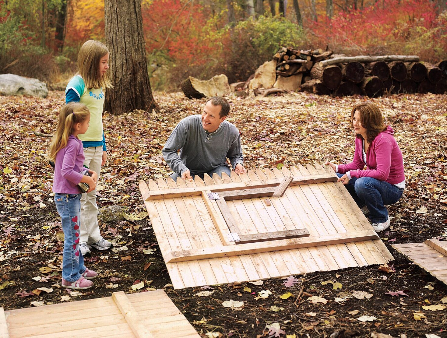 How to Build a Fort   Build a fort, Outdoor play areas ...