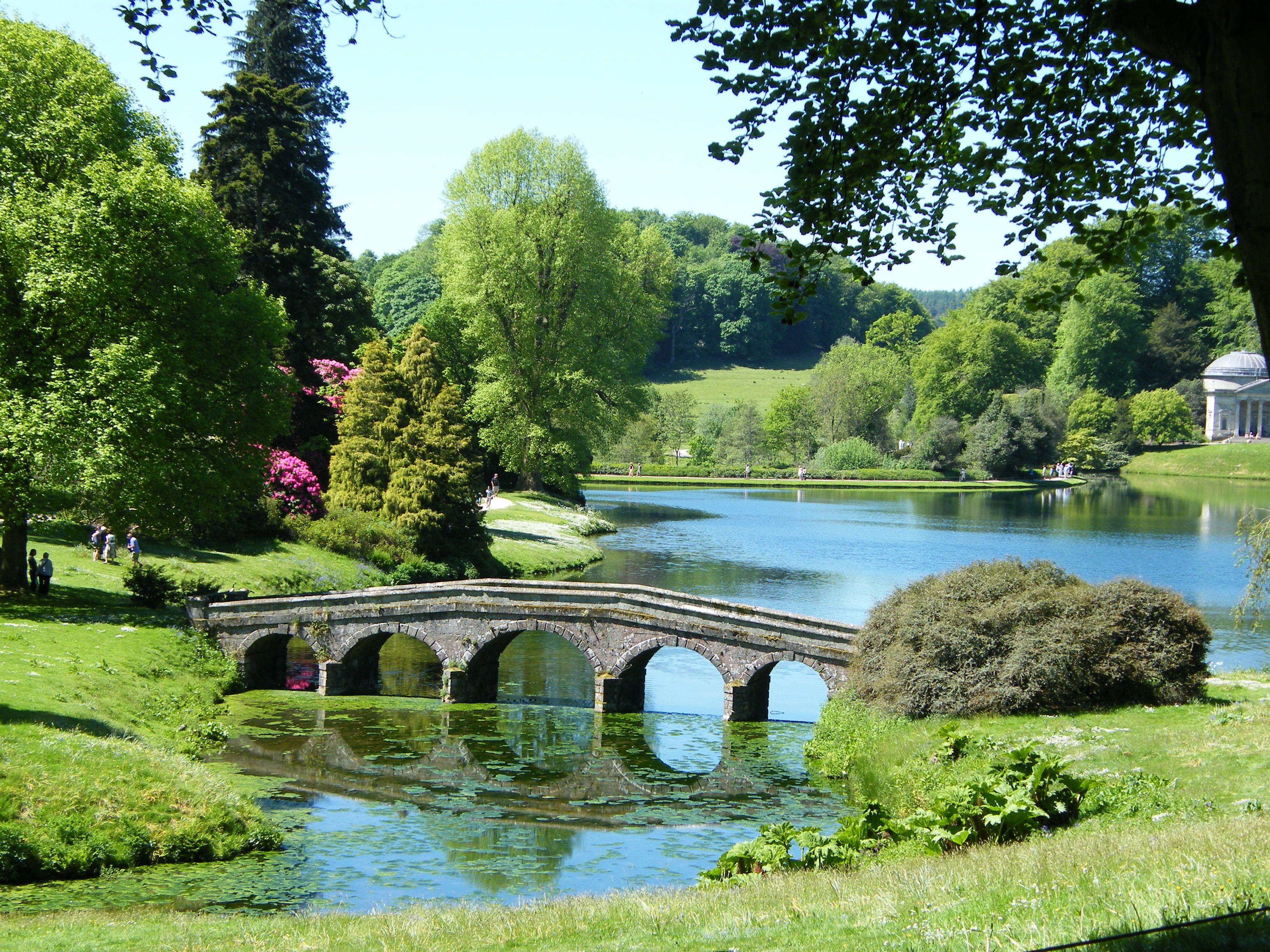 Home Garden Landscaping Stourhead Landscape Garden Image - Landscape gardens