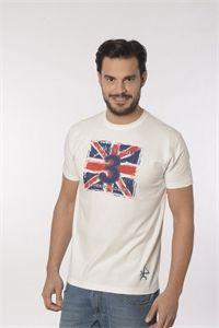 Valecuatro camiseta England vintage blanca manga corta. Nueva colección primavera verano 2016. Compra online: www.enriquepellejeromoda.com