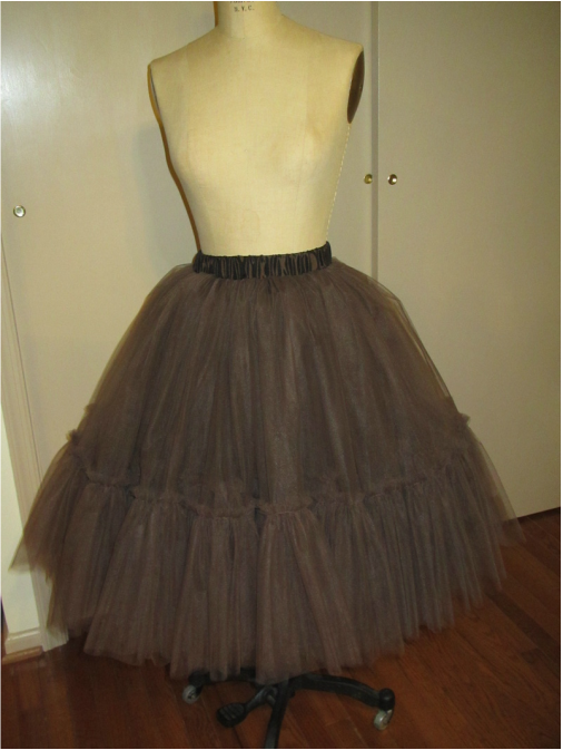 29ec99dc99 Great tip for keeping a tulle skirt from looking bulky around the waist.  Saving for later!