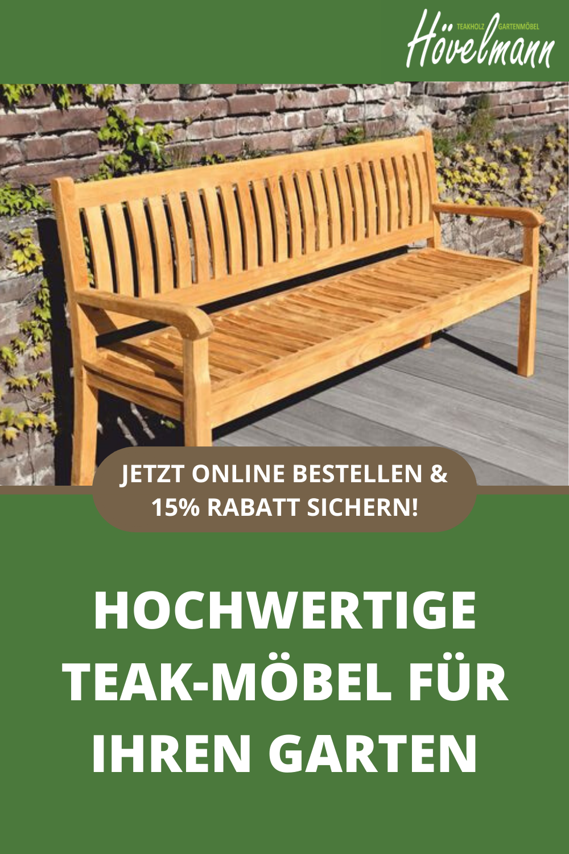 Hochwertige Teakholz Gartenmobel Teak Holz Banke Garten Palettentisch Garten