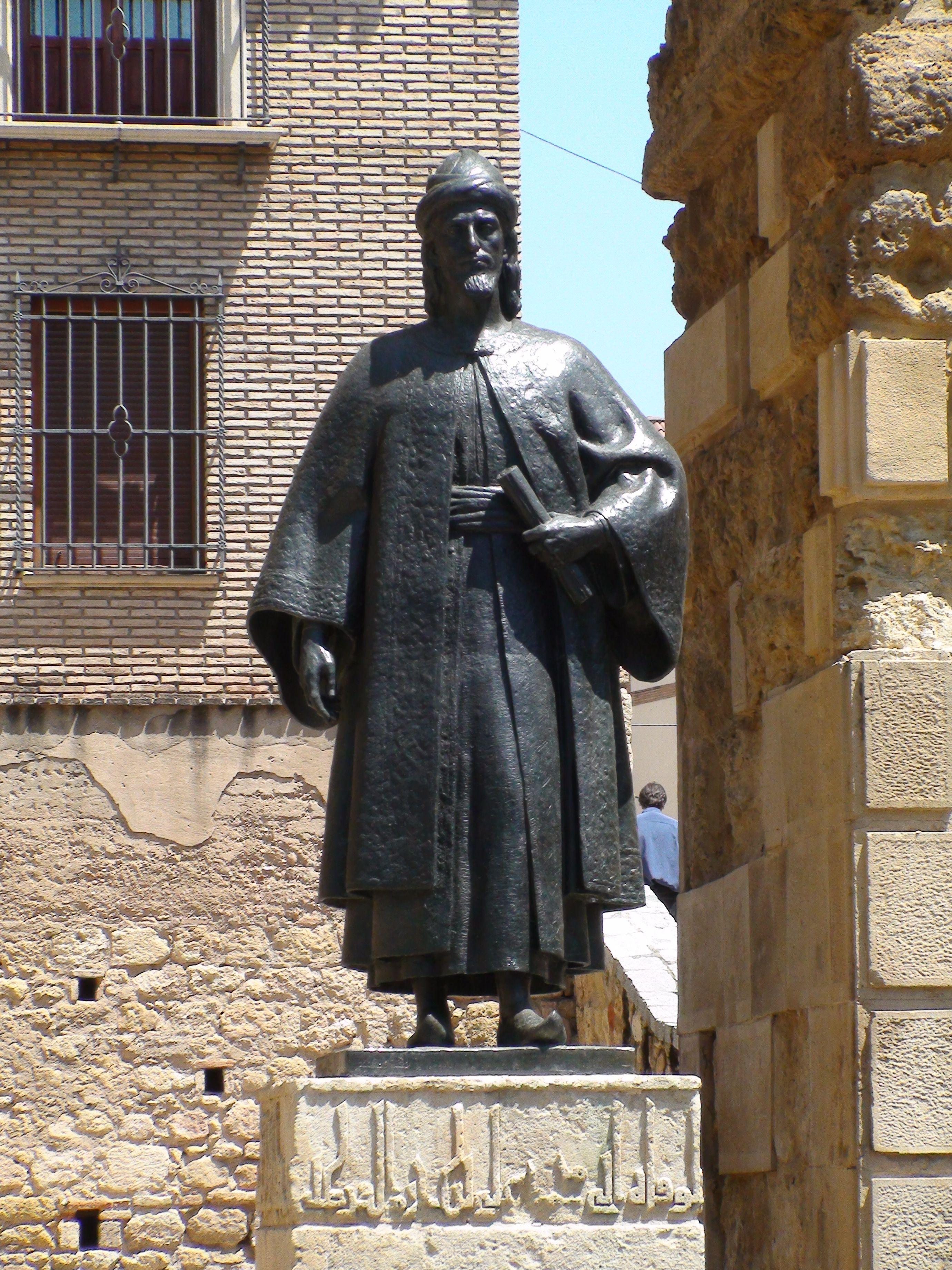 Statue Of Ibn Hazm A 10thc Philosopher Cordoba Spain