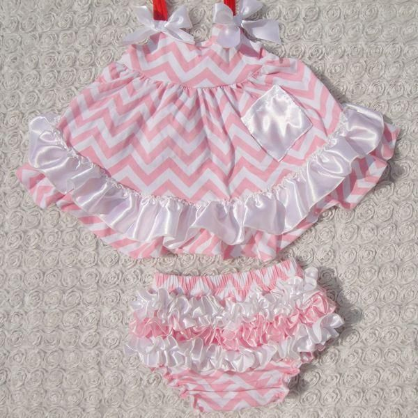 0d2fad20abe0 Baby Girls Tank Dress and Ruffled Bloomers Set  10 Styles