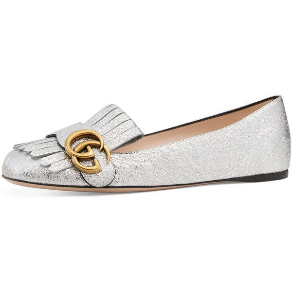 Gucci Marmont Flat Ballerina Loafer (2