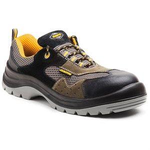 Calzado Y Botas De Seguridad Zapato De Seguridad Skarppa Modelo Orion Metal Free Piel Serraje Y Malla Catego Zapatos De Seguridad Bota De Seguridad Zapatos