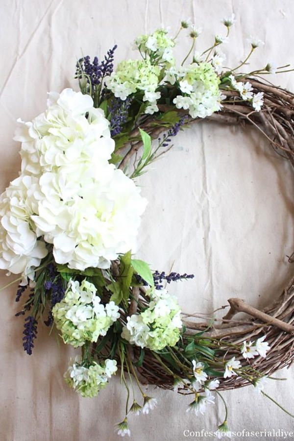 DIY Wreaths to Decorate Your Front Door for Easter | Front doors ...