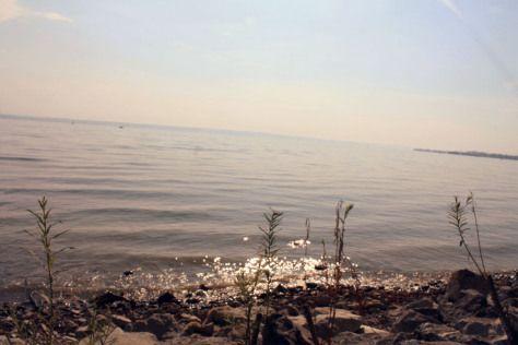 Wasser im Bodensee