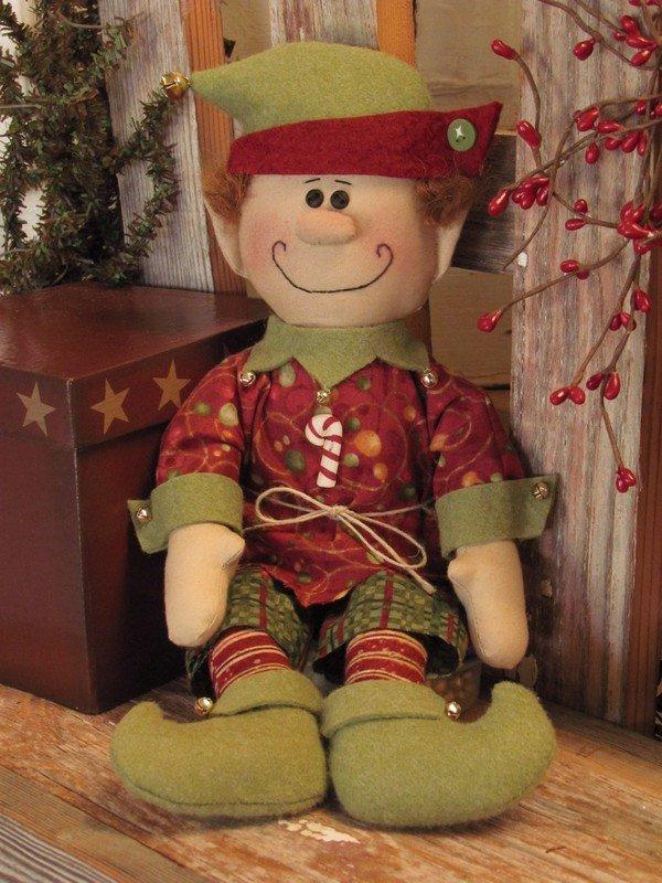 #055 Christmas Elf pattern