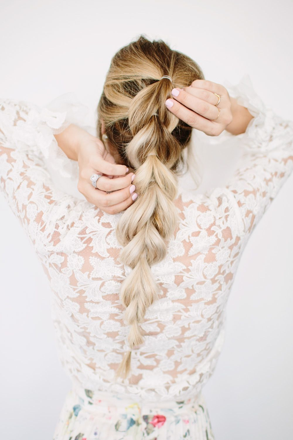 Pull through braid tutorial braid tutorials tutorials and hair style