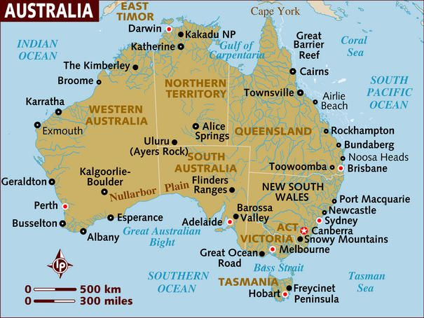 East Coast Of Australia Map.Planning A Trip To Australia What You Need To Know Australia