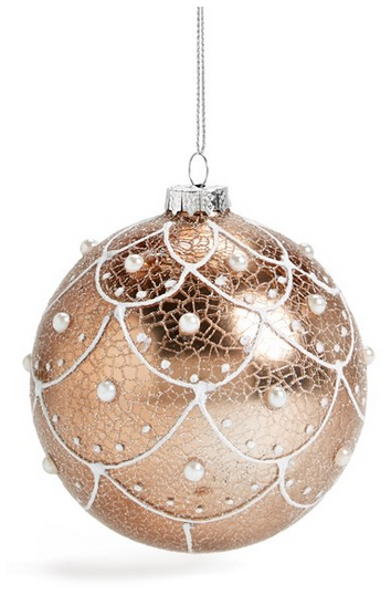 Pin By Tru Crook On December Colors Rose Gold Christmas Christmas Ornaments Ornaments