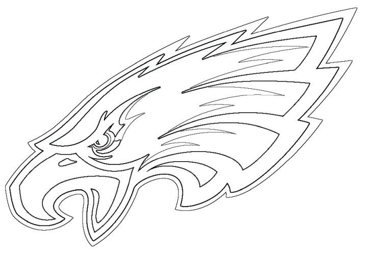 Top Galery Philadelphia Eagles Coloring Pages