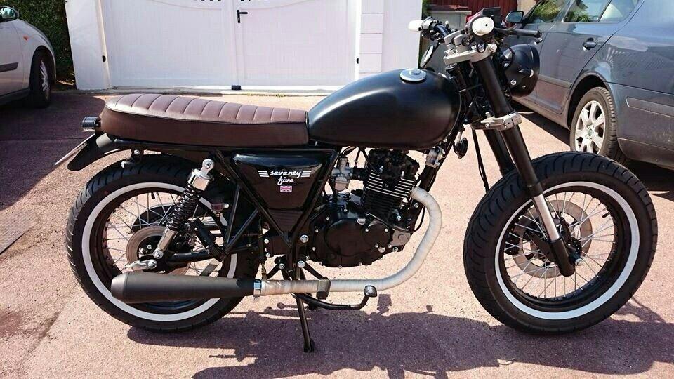 mash seventy five 125 motorbike pinterest cyclomoteur et 125 mash. Black Bedroom Furniture Sets. Home Design Ideas