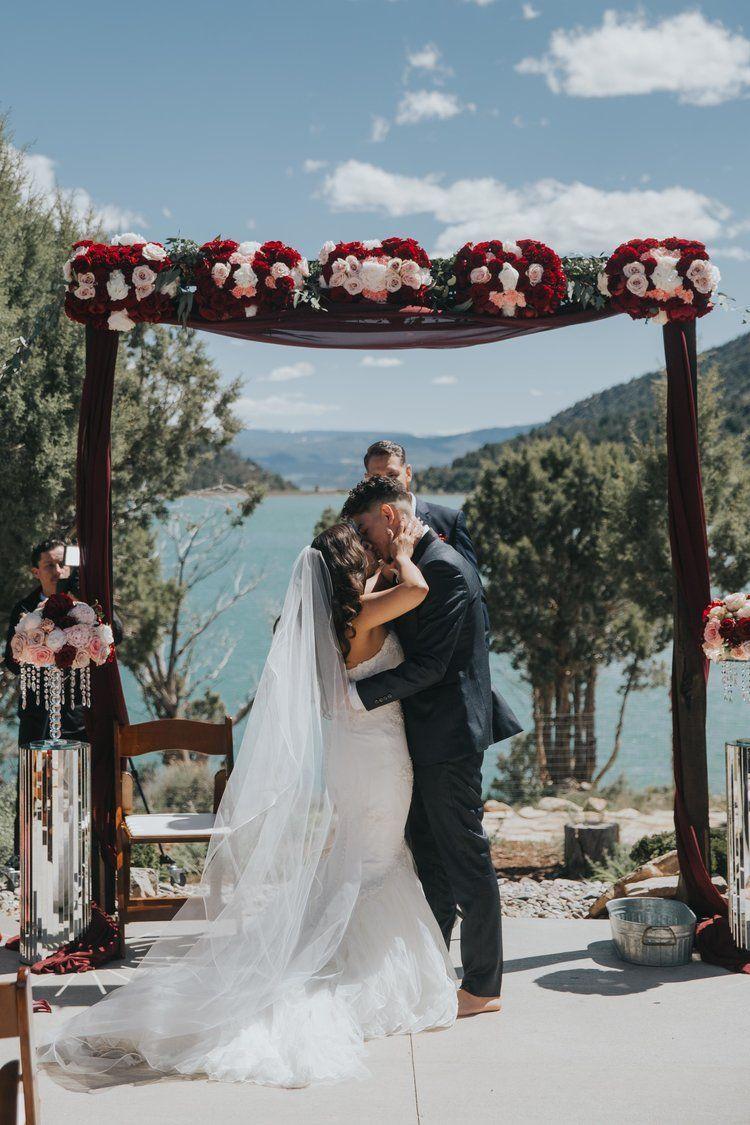 Luxurious, Outdoor, Colorado Wedding A Bold, Fairytale ...