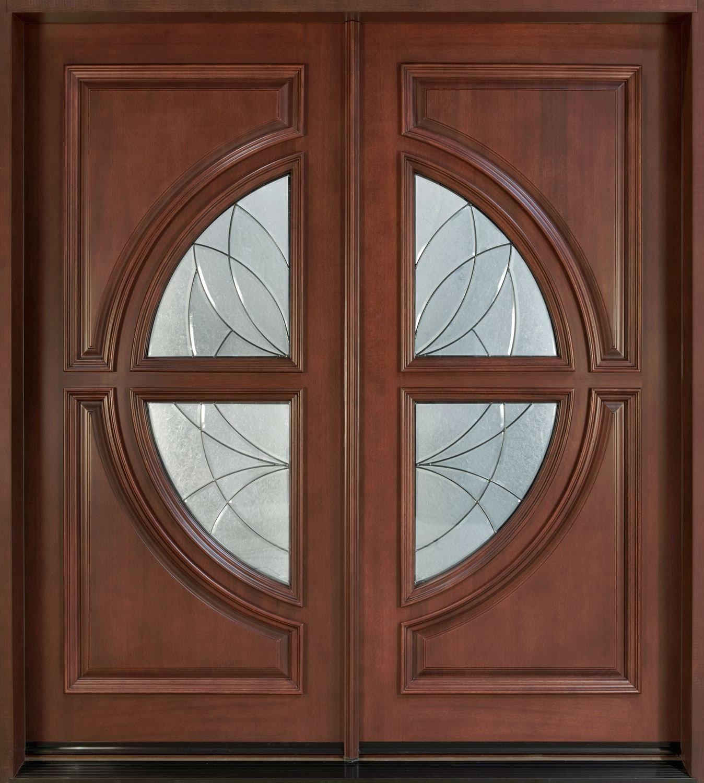 Custom size prehung exterior doors