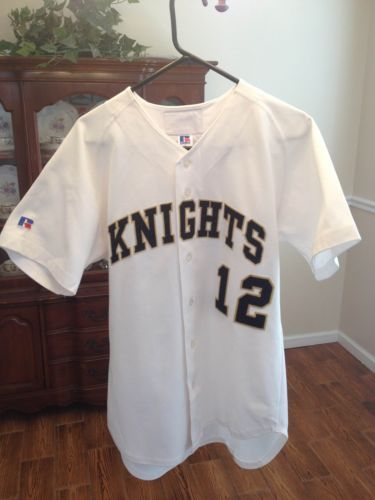 Authentic Ucf Knights Baseball Jersey Game Used Matt Fox