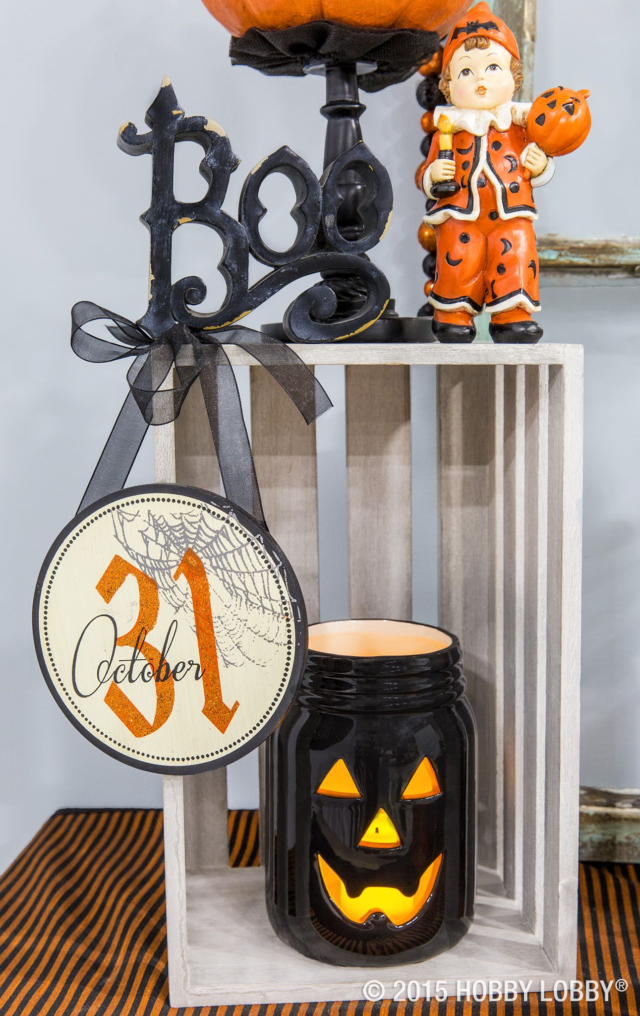 Vintage-style Halloween never looked so good! Holidays Pinterest - Hobby Lobby Halloween Decorations