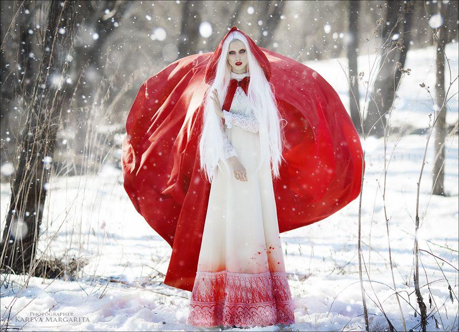 Фото зимние сказочные персонажи