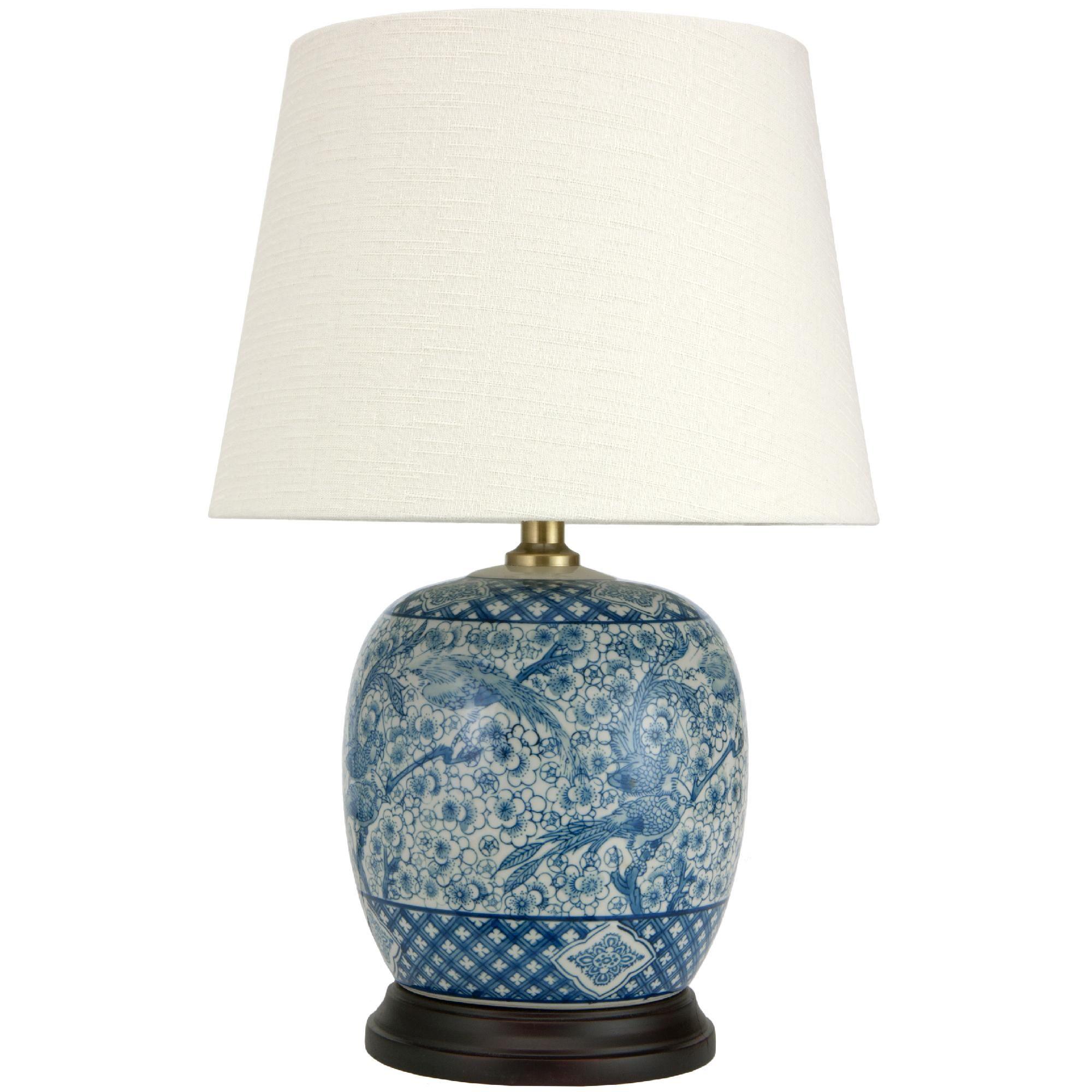 Oriental furniture 20 classic blue white porcelain jar lamp oriental furniture 20 classic blue white porcelain jar lamp aloadofball Image collections
