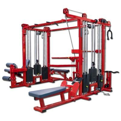 multi station cable crossover machine  home gym ideas