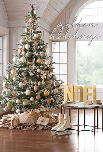 I could not resist the magical elegance of this Grandin Road 8' Nobilis Fir  Tree, so ordered it. Hope it looks as good as the picture. - I Could Not Resist The Magical Elegance Of This Grandin Road 8