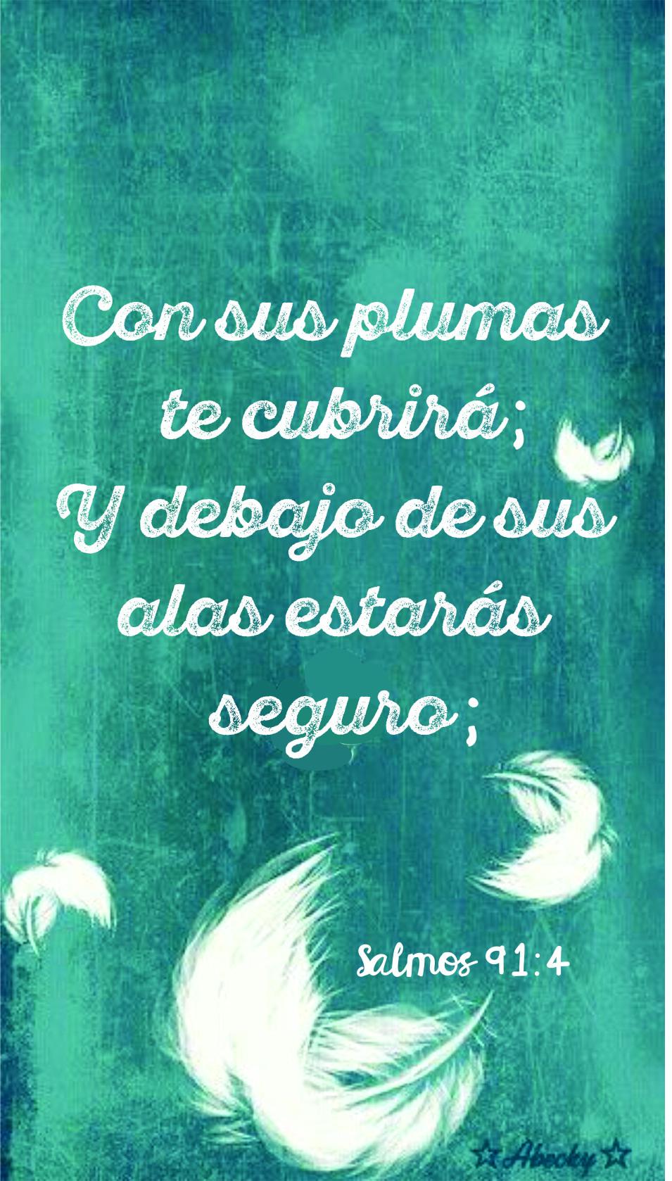 Con sus plumas te cubrirá... Salmo 91:4 | IMAGES | Pinterest | Trust ...