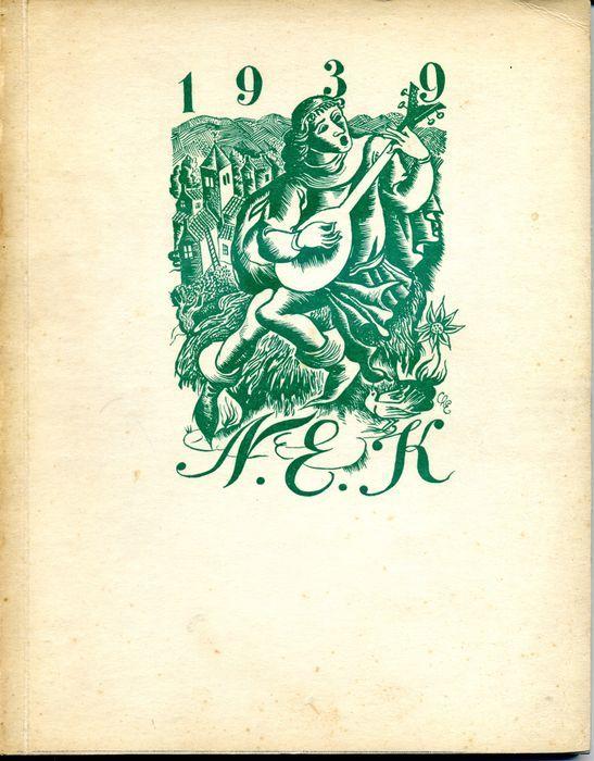 Ex-Libris; Nederlandsche ExLibris-Kring [NEK] - 5 uitgaven - 1936/1940