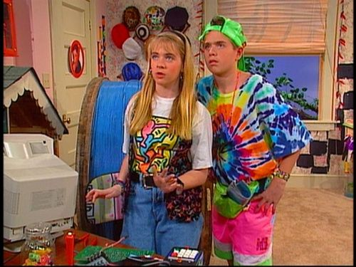 I definitely think of Clarissa Explains it All every single time I see a hubcap on the side of the road.  It takes every ounce of my willpower to not pull over, take it, and hang it up on my bedroom wall.  This has been like...a 20-year-long struggle for me.