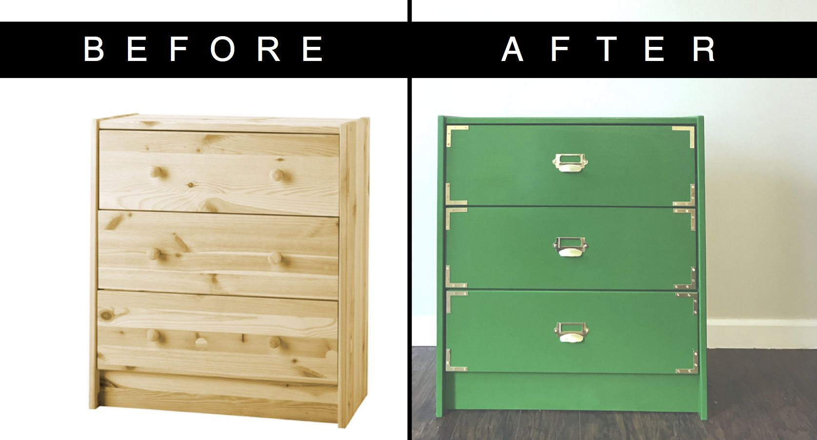 Ikea Rast Hack Campaign Dresser Midcenturymodern Hack Green Highgloss Campaign Furniture Diy Painting Diy Dresser Campaign Dresser Ikea Hack