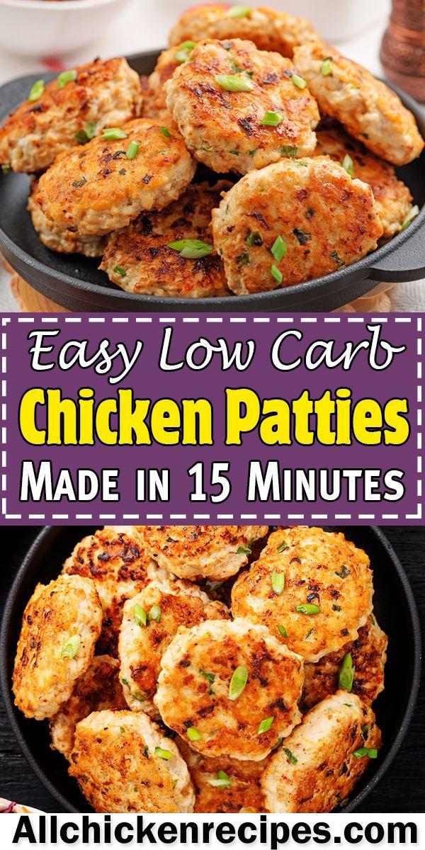 Keto Chicken Patties