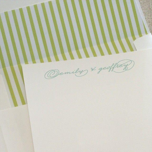 stationery 011 | Custom Stationery | Walnut Paperie