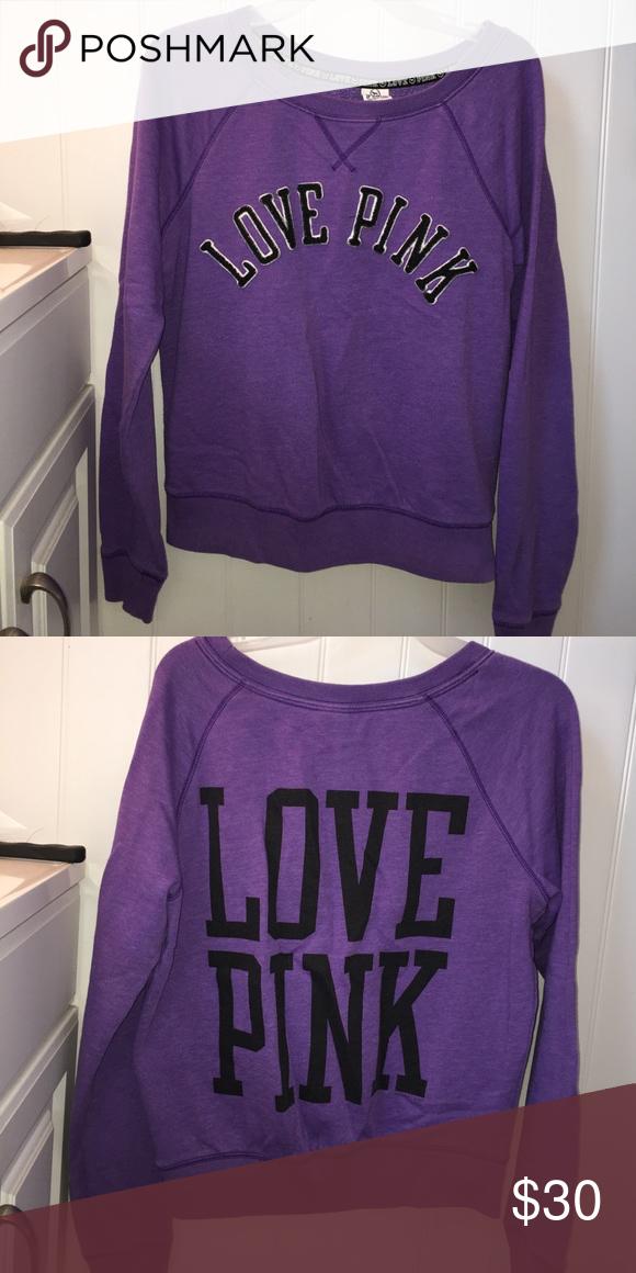 Selling this Victoria's Secret sweatshirt on Poshmark! My username is: elisemcmahon. #shopmycloset #poshmark #fashion #shopping #style #forsale #Victoria's Secret #Tops