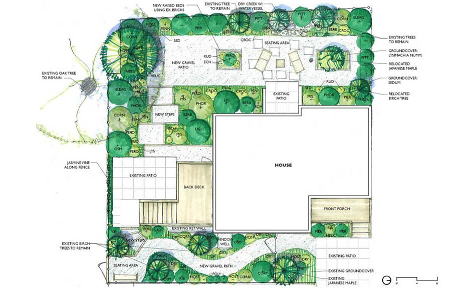 gardens design drawings with garden design drawing