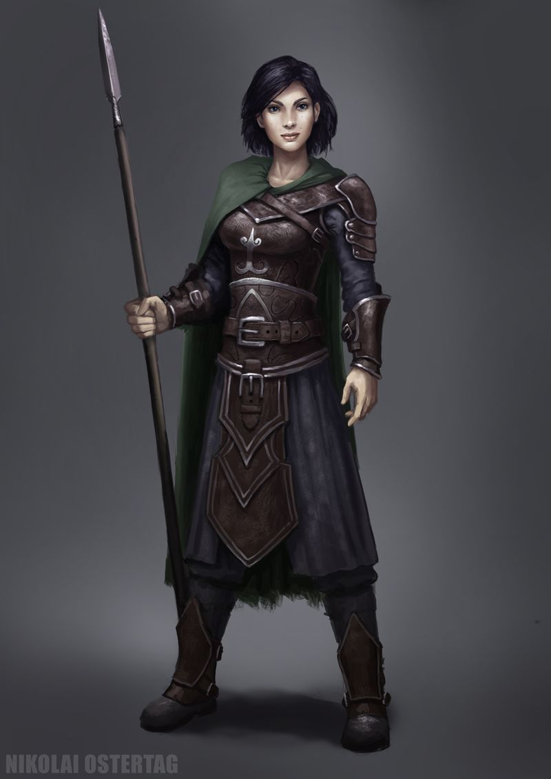Common Sellsword Concept by NikolaiOstertag on deviantART armor clothes clothing fashion player character npc | Create your own roleplaying game material w/ RPG Bard: www.rpgbard.com | Writing inspiration for Dungeons and Dragons DND D&D Pathfinder PFRPG Warhammer 40k Star Wars Shadowrun Call of Cthulhu Lord of the Rings LoTR + d20 fantasy science fiction scifi horror design | Not Trusty Sword art: click artwork for source