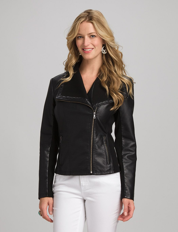 roz & ALI Moto Jacket dress barn ♡ Moto jacket dress
