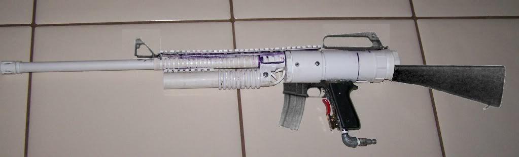 PVC Air Rifle | Do It Yourself DIY Craft Fun | Guns, Air rifle, Airsoft