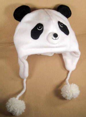26c1755bba63d Download Panda Bear Fleece Aviator Hat Sewing Pattern
