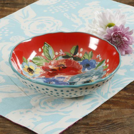 The Pioneer Woman Melody 7 5 Inch Pasta Bowls Set Of 4