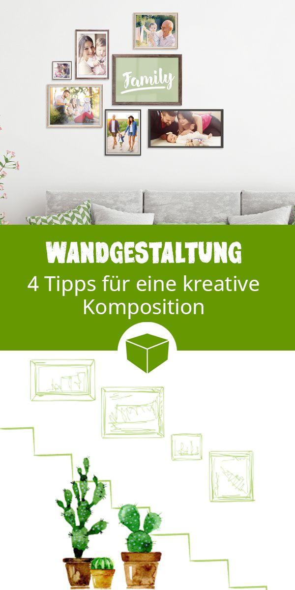 wandgestaltung wandgestaltung leinwand gestalten und diy wohnen. Black Bedroom Furniture Sets. Home Design Ideas