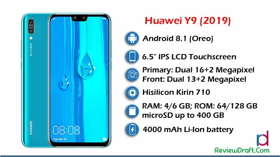 Huawei Y9 2019 Price in Bangladesh, Full Specification