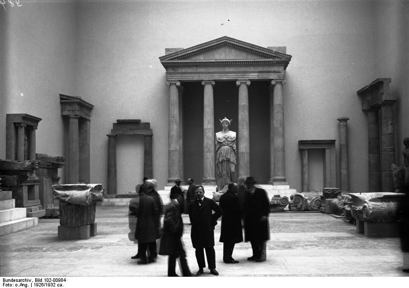 Pergamon Museum Berlin 1932 Innenansicht Pergamon Museum Pergamon Museum Berlin Pergamon